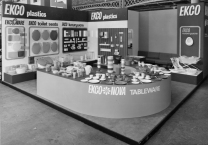 An EKCO trade stand from the late 60's